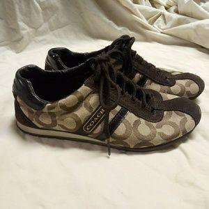 Coach Kathleen tennis shoes Sz.6